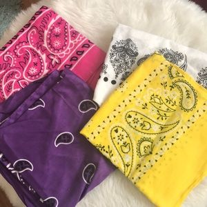 Accessories - Bundle of Bandanas